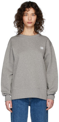 Acne Studios Grey Fairview Patch Sweatshirt