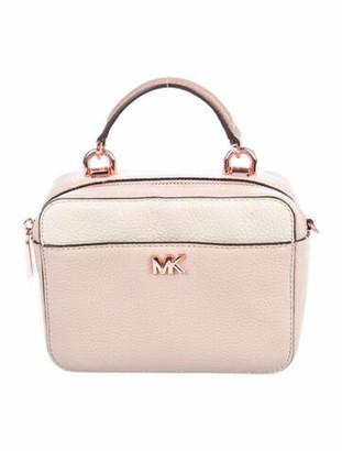 MICHAEL Michael Kors Leather Mini Satchel Pink