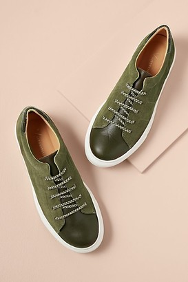 Croc Suede Trainers
