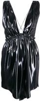 Isabel Marant metallic mini dress