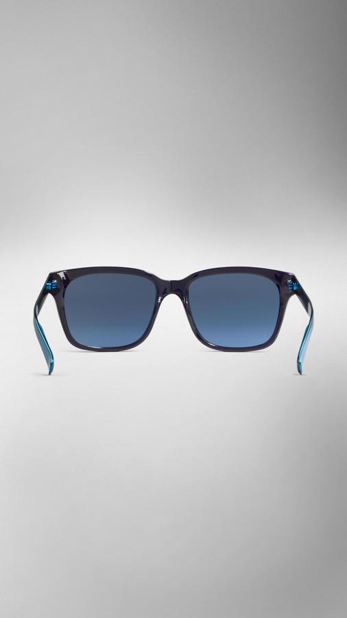 Burberry Spark Square Frame Sunglasses