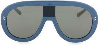 Stella McCartney 60MM Mirrored Aviator Sunglasses