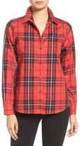 Foxcroft Tartan Wrinkle Free Shirt