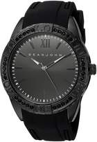 Sean John Men's 'Bond' Quartz Metal and Silicone Dress Watch, Color: (Model: SJC0171001)