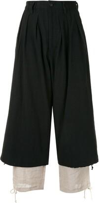 Yohji Yamamoto Layered Trousers