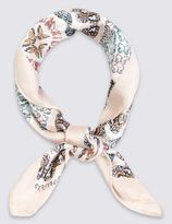 Marks and Spencer Floral Print Scarf