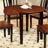 Balfor Drop Leaf Dining Table Alcott Hill Base Color: Black