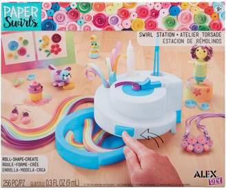 Alex DIY Paper Swirls Swirl Station