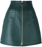 Carven zipped a-line skirt