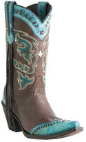 Women's Lucchese Bootmaker M5022. S53F Snip Toe Fashion Heel Wingtip Boot