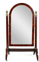 One Kings Lane Vintage French Empire Psyche Mirror