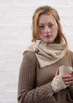 Holmes Samantha Alpaca Cable Knit Snood Special Price