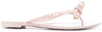 Valentino Rockstud flip flops