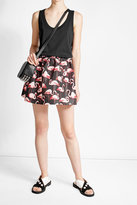 RED Valentino Dress with Printed Skirt