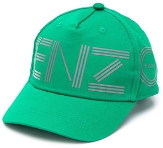 Kenzo Kids Logo-Print Cap