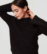 LOFT Relaxed Ribbed Sweater