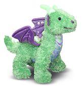 Melissa & Doug Zephyr Green Dragon Stuffed Animal