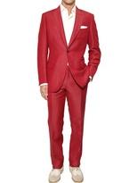 Brioni Linen And Silk Blend Slim Fit Suit
