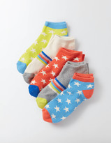 Boden 5 Pack Terry Ankle Socks