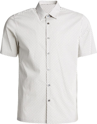 Theory Men's Irving Witan Print Short-Sleeve Sport Shirt