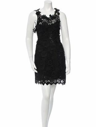 Dorothee Schumacher Embellished Lace Dress w/ Tags Black
