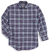 Thomas Dean Plaid Dress Shirt (Little Boys & Big Boys)