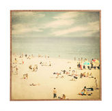 DENY Designs Shannon Clark Vintage Beach Framed Wall Art