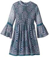 Ella Moss Elaine All Over Printed Dress Girl's Dress