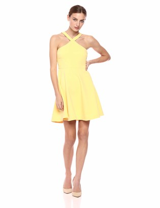 LIKELY Women's Ashland crossfront fit and Flare Cocktail Dress