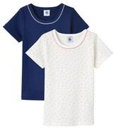 Petit Bateau Set of two girls T-shirts