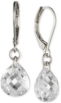 lonna & lilly Silver-Tone Crystal Drop Earrings
