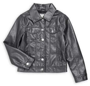 Urban Republic Little Girl's Faux Leather Jacket
