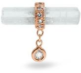 Jacquie Aiche Diamond, aquamarine & rose-gold earring