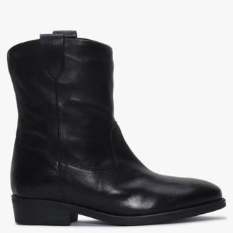 Alba Moda Black Ankle Boots