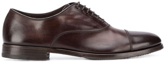 Henderson Baracco Distressed Oxford Shoes