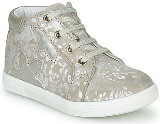 GBB ALEXA girls's Shoes (High-top Trainers) in Beige