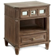 Furniture Of America Nightstand Laurel Oak
