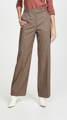 Coach 1941 Check Trousers