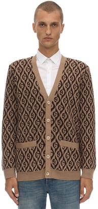 Gucci Gg Wool Jacquard Cardigan