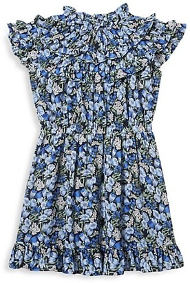 Janie and Jack Baby's, Little Girl's & Girl's Floral Chiffon Dress