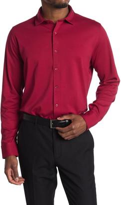 Bugatchi Solid Knit Regular Fit Shirt