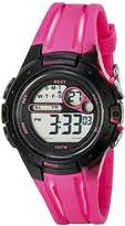 Roxy Women's RX/1014PKBK THE TOUR Pink and Black Digital Chronograph Strap Watch
