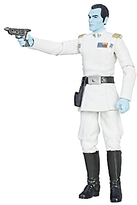 Star Wars The Last Jedi The Black Series Grand Admiral Thrawn Action Figure