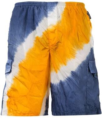Palm Angels Tie-Dye Swim Shorts