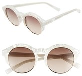 Le Specs Women's 'Edition Five' 51Mm Sunglasses - Matte Grey/ Gold