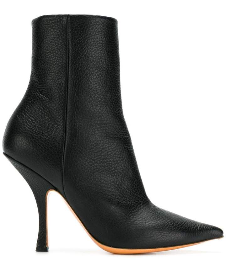 Y/Project Y / Project pointed ankle boots