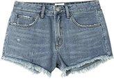RVCA Juniors the Boyfriend Denim Shorts