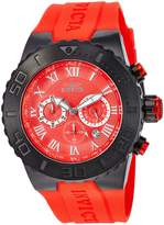 Invicta Men's 'Pro Diver' Quartz Stainless Steel and Polyurethane Casual Watch, Color: (Model: 24778)