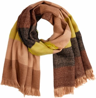 Scotch & Soda RBelle Girl's Oversized Scarf In Soft Woven Quality