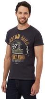 Wrangler Dark Grey 'glory Road' Print T-shirt